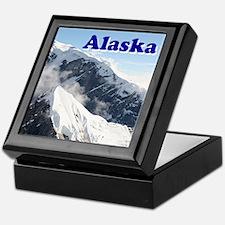 Alaska: Alaska Range, USA Keepsake Box