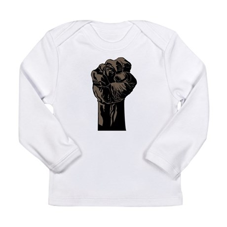 The Black Fist Long Sleeve T-Shirt