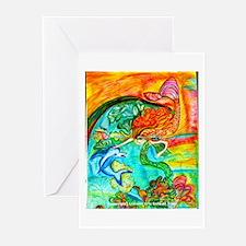 Mermaid Bliss Greeting Cards (Pk of 10)