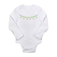 Teeth Beaded Tooth Necklace Long Sleeve Infant Bod
