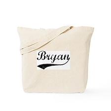 Vintage: Bryan Tote Bag