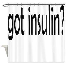 got insulin 2.png Shower Curtain