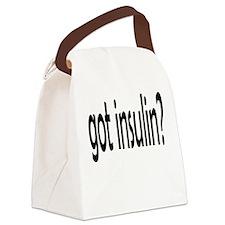 got insulin 2.png Canvas Lunch Bag