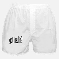 got insulin 2.png Boxer Shorts