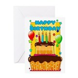 Birthday from grandkids 100th birthday Greeting Cards