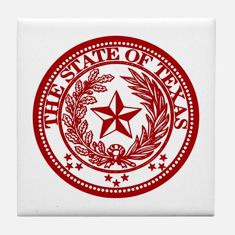 Red Seal Tile Coaster