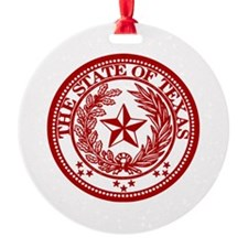 Red Seal Ornament