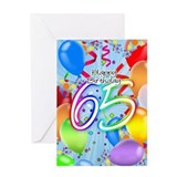 65th birthday greeting card Greeting Cards
