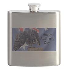 Australia Day Flask