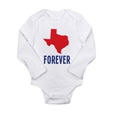 Texas Forever Long Sleeve Infant Bodysuit