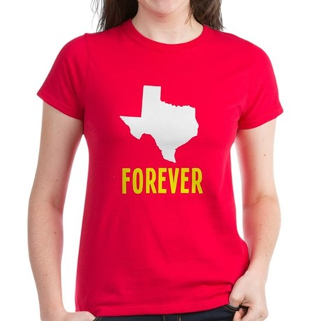 Texas Forever Women's Dark T-Shirt