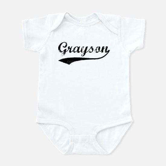 Vintage: Grayson Infant Bodysuit