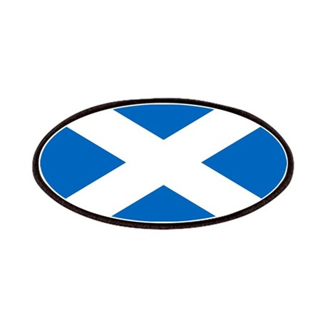Scottish Flag Patches