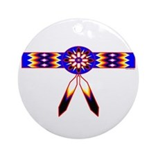NATIVE AMERICAN ORNAMENT Ornament (Round)