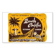 South Pacific Tiki Bar Decal