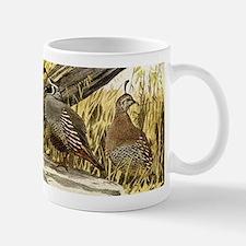 Quail in the grass Mug