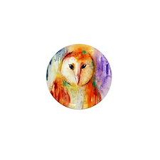 Solo Owl ~ Mini Button