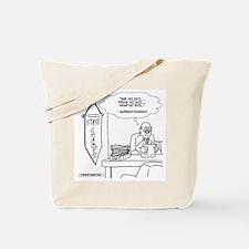 Cute Superintendent Tote Bag