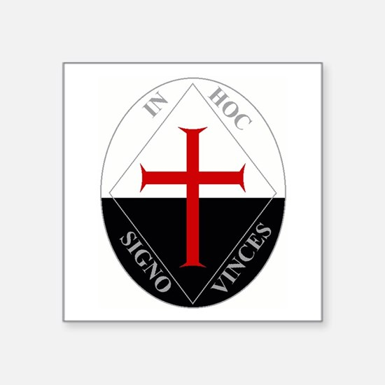 Knights Templar (Latin) Sticker