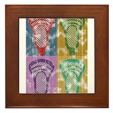 Lacrosse Framed Tile