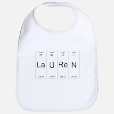 Lauren periodic table of elements Bib