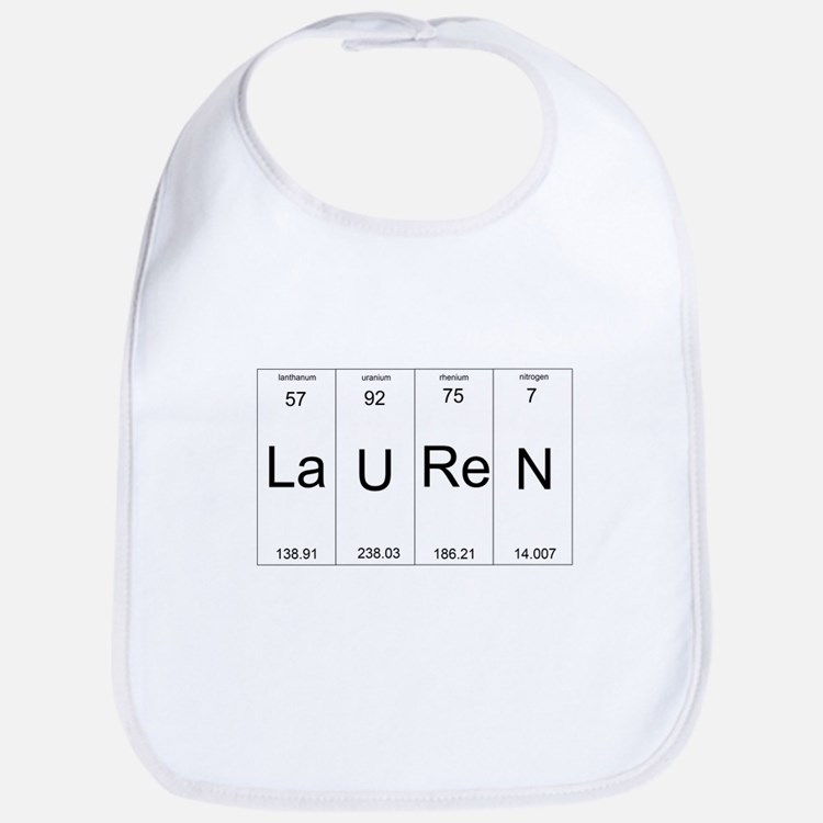 Lauren periodic table of elements Bib