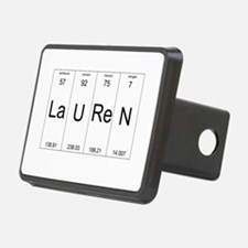 Lauren periodic table of elements Hitch Cover
