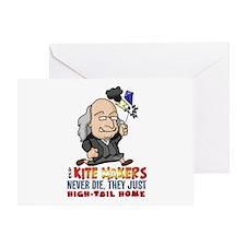 Kite Makers Greeting Card