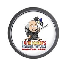 Kite Makers Wall Clock