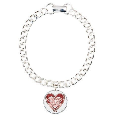 You had me at bacon Charm Bracelet, One Charm