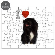Black Pekingese Puzzle