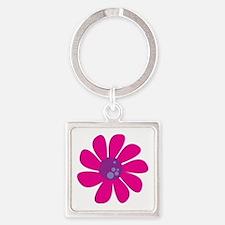 Munchkin Daisy Square Keychain