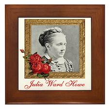 Julia Ward Howe Framed Tile