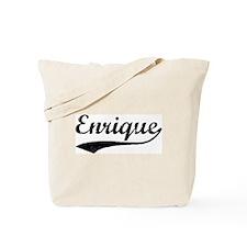 Vintage: Enrique Tote Bag