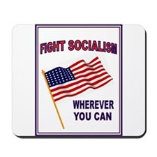 ANTI-SOCIALIST Mousepad