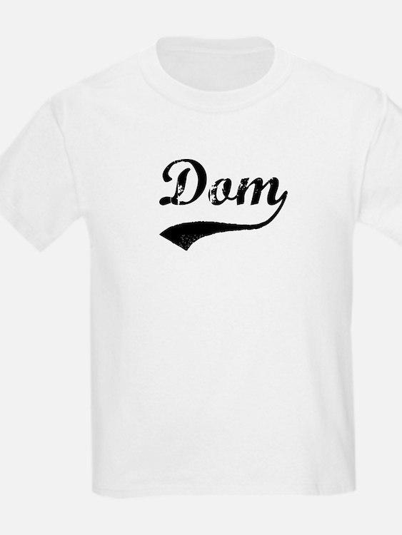 Vintage: Dom Kids T-Shirt