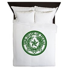 Green Queen Duvet