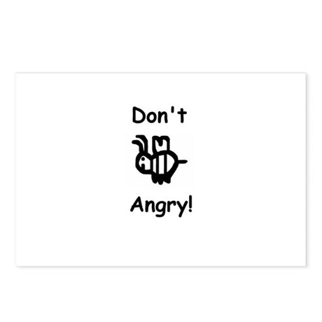 Don't B Angry! Postcards (Package of 8)