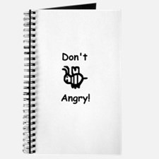 Don't B Angry! Journal