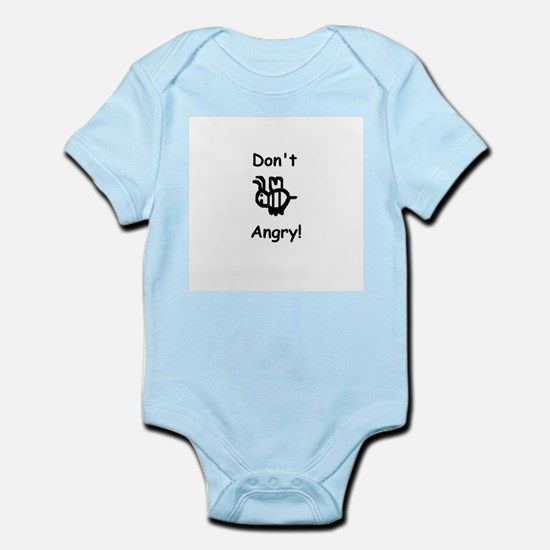 Don't B Angry! Infant Bodysuit