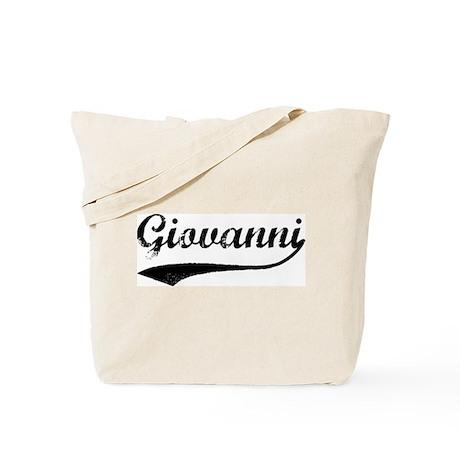 Vintage: Giovanni Tote Bag