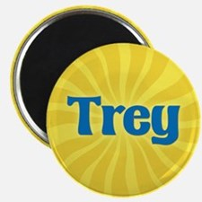 Trey Sunburst Magnet