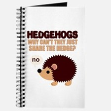 Share the hedge Journal
