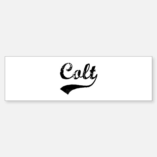 Vintage: Colt Bumper Bumper Bumper Sticker