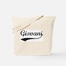 Vintage: Giovani Tote Bag