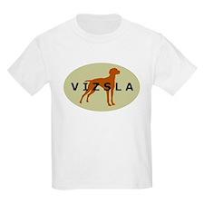 vizsla dog Kids T-Shirt