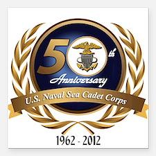 Naval Sea Cadet Corps - 50th Anniversary Square Ca