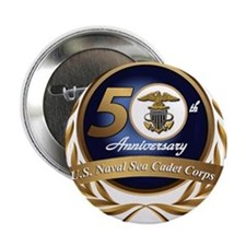 "Naval Sea Cadet Corps - 50th Anniversary 2.25"" But"