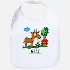 Cute Cartoon goat Bib