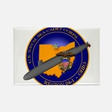 Naval Sea Cadet Corps - Region 4-1 Rectangle Magne